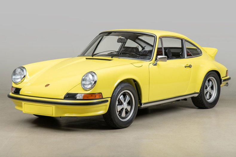 1973 Porsche 911 Carrera RS , LIGHT YELLOW, VIN 91136000091, MILEAGE 12415