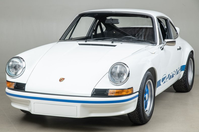 1973 Porsche 911 Carrera RS , GRAND PRIX WHITE, VIN 9113600096, MILEAGE 56998