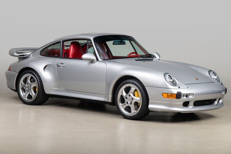 1997 Porsche 911 Turbo S , SILVER, VIN WP0AC2991VS375853, MILEAGE 1416