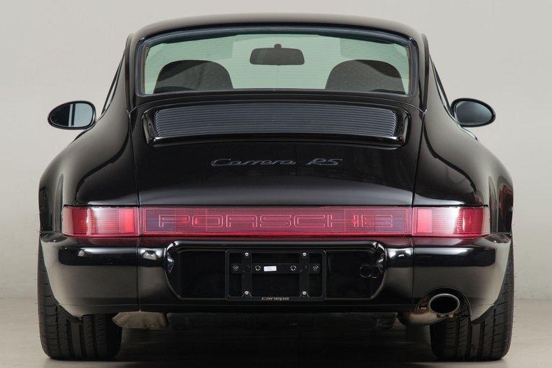 1992 Porsche 911 Carrera RS , BLACK METALLIC, VIN WP0ZZZ96ZNS490630, MILEAGE 4755