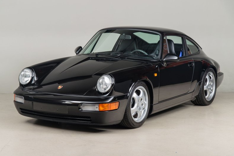 1992 Porsche 911 Carrera RS , BLACK METALLIC, VIN WP0ZZZ96ZNS490630, MILEAGE 4755