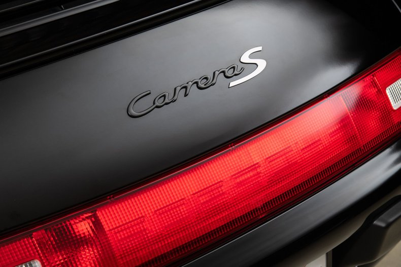 1997 Porsche 911 Carrera S , BLACK, VIN WP0AA2990VS322180, MILEAGE 35589