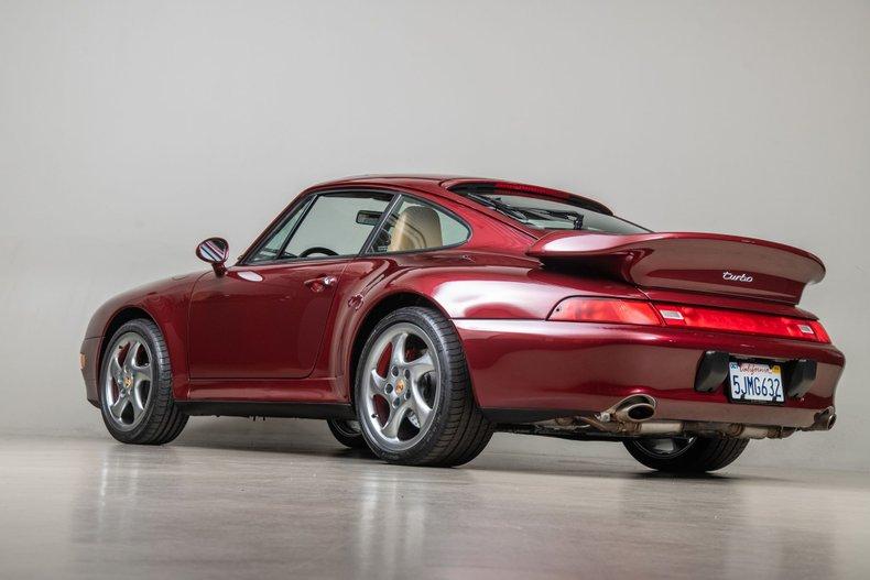 1996 Porsche 911 Turbo , ARENA RED METALLIC, VIN WP0AC299XTS376349, MILEAGE 42984