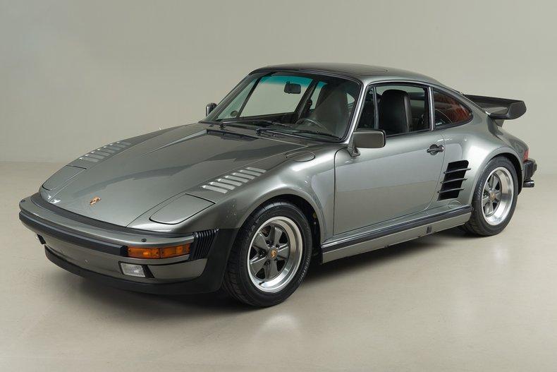 1988 Porsche 911 Turbo Coupe Turbo Slantnose, GRANITE METALLIC, VIN WP0JB0931JS050407, MILEAGE 28956