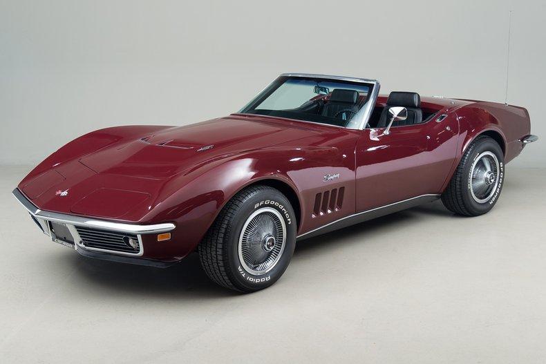1969 Chevrolet Corvette 427 Convertible_5071
