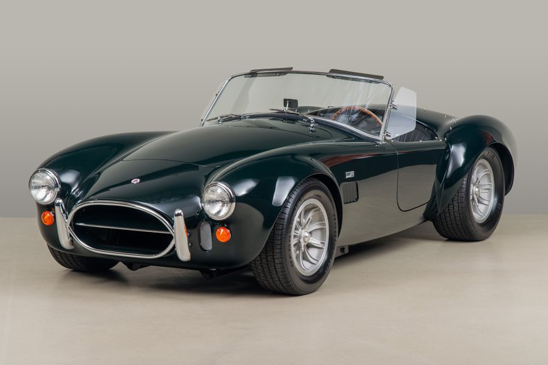 1967 Shelby Cobra 427, GREEN, VIN CSX3279, MILEAGE 11360
