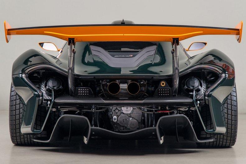 2016 McLaren P1 GTR, CANEPA GREEN, VIN SBM12ABB6FW100040, MILEAGE 120