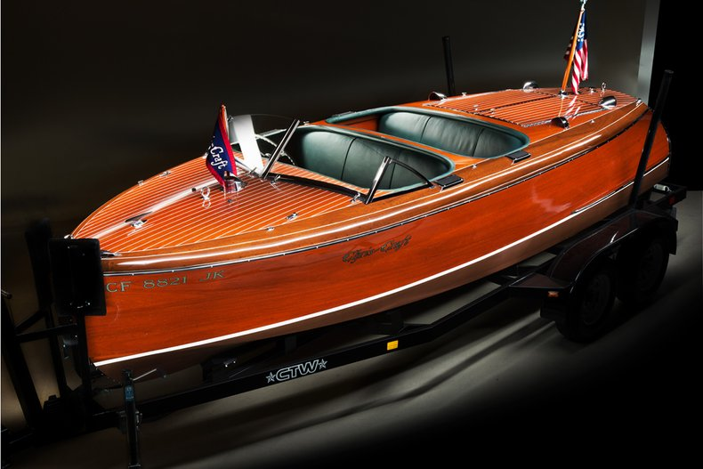 1941 Chris Craft Custom Runabout _5262