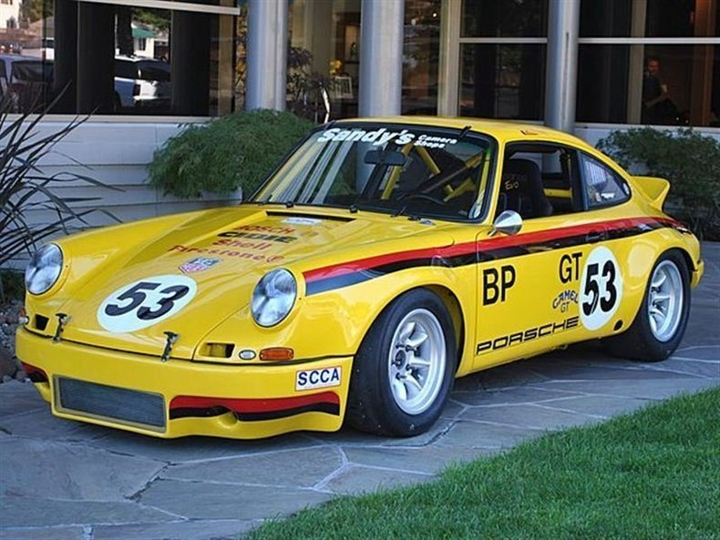 1969 Porsche 911 Electric Banana_4051V