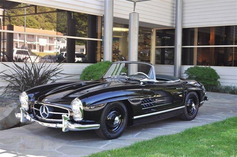 1961 Mercedes-Benz 300 SL Hardtop Roadster_4006V
