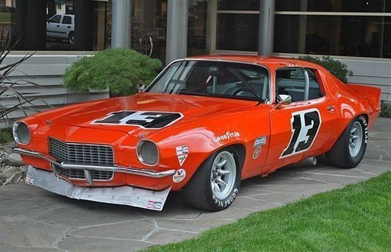 1970 Chevrolet Camaro Trans-Am Car_4047V