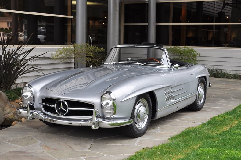 1961 Mercedes-Benz 300SL Roadster_4111