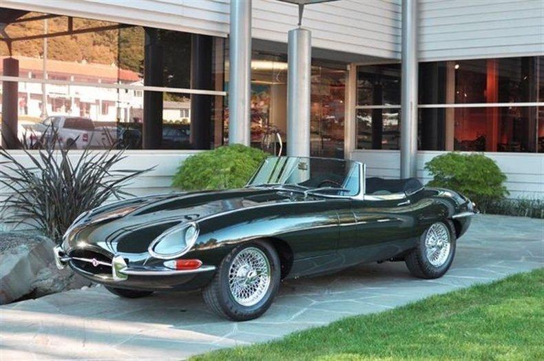 1964 Jaguar XKE Series 1 OTS_4162V