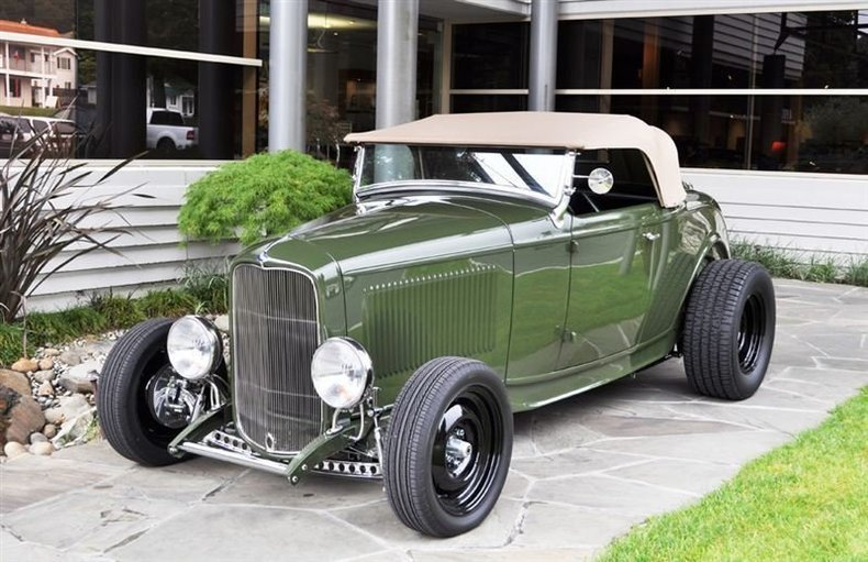 1932 Ford Roadster Hot Rod_4268V