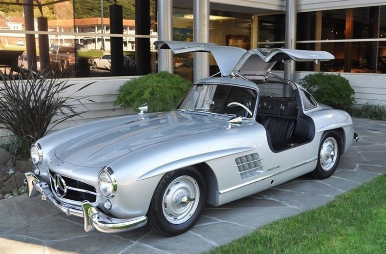 1955 Mercedes-Benz 300SL Gullwing_4292V