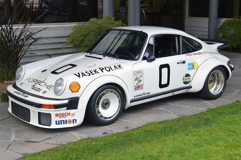 1976 Porsche 934 White_4029V