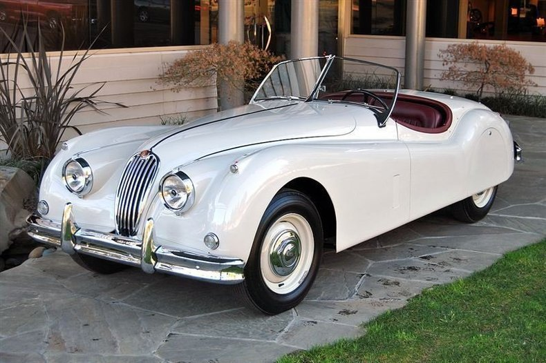 1957 Jaguar XK140 Roadster_4382