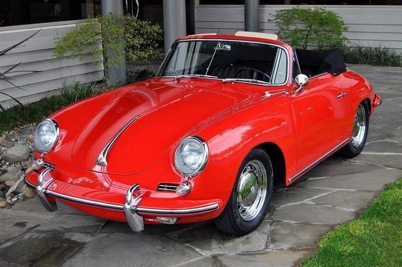 1965 Porsche 356 C Cabriolet_4431