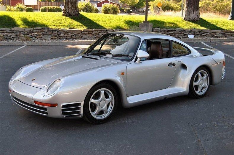 1987 Porsche 959 Silver_4506