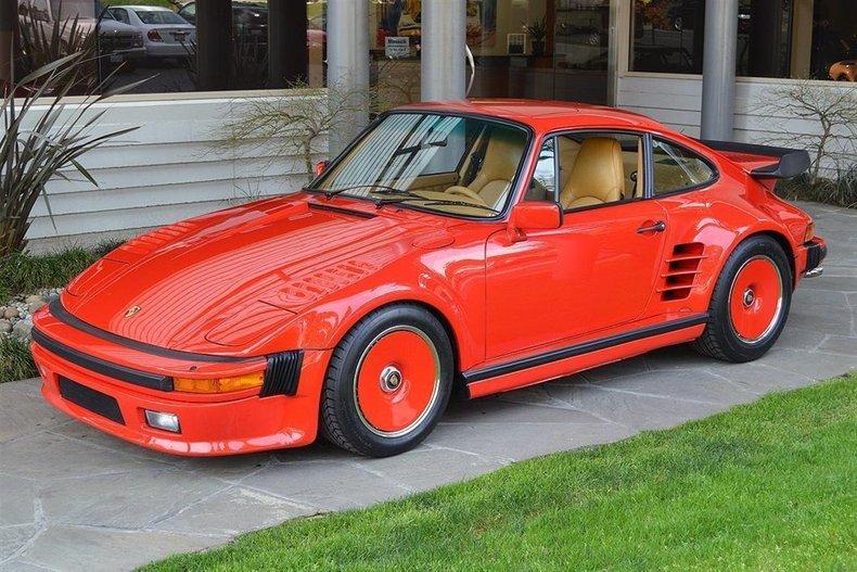 1985 Porsche 911 Turbo Slantnose_4712