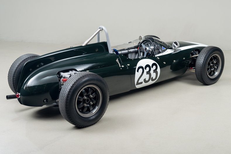 1961 Cooper T56 MK II Formula Junior, BRITISH RACING GREEN, VIN FJ-2-62