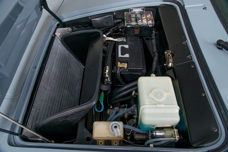 1979 BMW M1 , BASALT BLAU, VIN WBS00000094301094, MILEAGE 1025