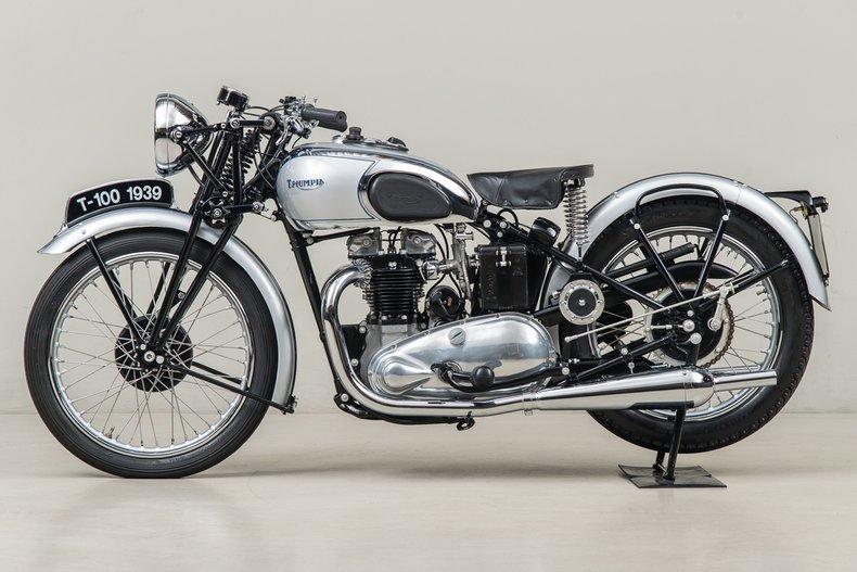 1939 Triumph T100 _5279