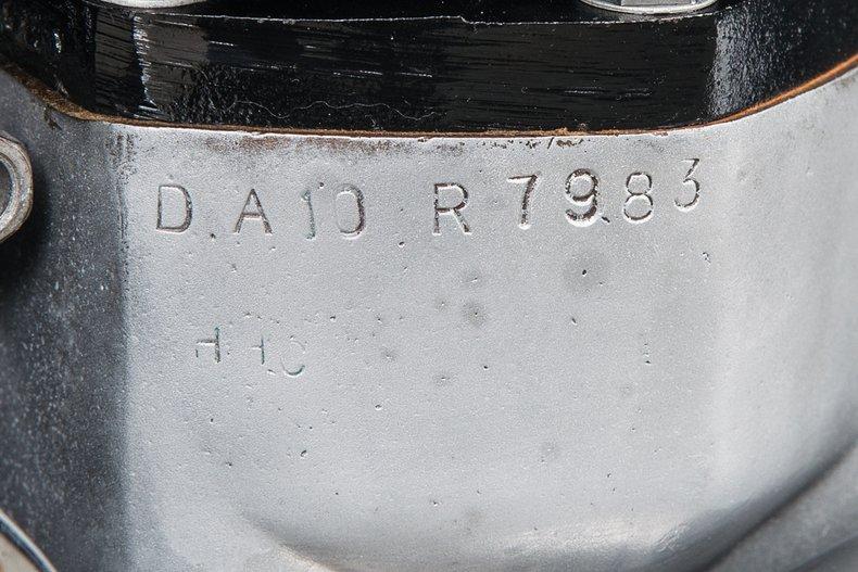 1963 BSA Rocket Gold Star, POLISHED ALUMINUM, VIN GA10 605, MILEAGE 2522