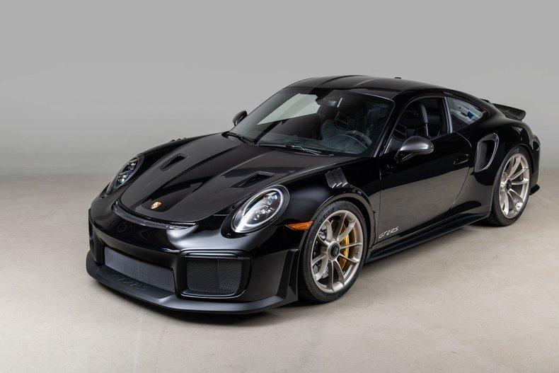 2019 Porsche 911 GT2 RS, BLACK, VIN WP0AE2A97KS155120, MILEAGE 116