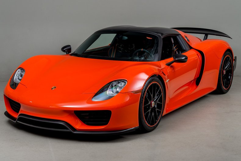 2015 Porsche 918 Weissach , CONTINENTAL ORANGE, VIN WP0CA2A13FS800396, MILEAGE 10