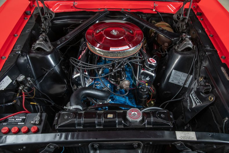1966 Ford Mustang GT Fastback, RED, VIN 6R09A06557, MILEAGE 519