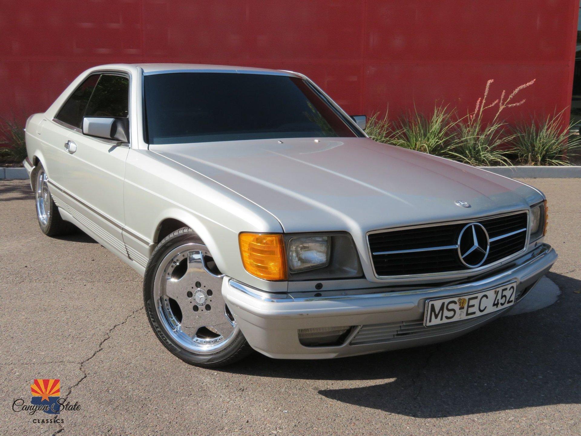 1984 Mercedes-Benz 500SEC