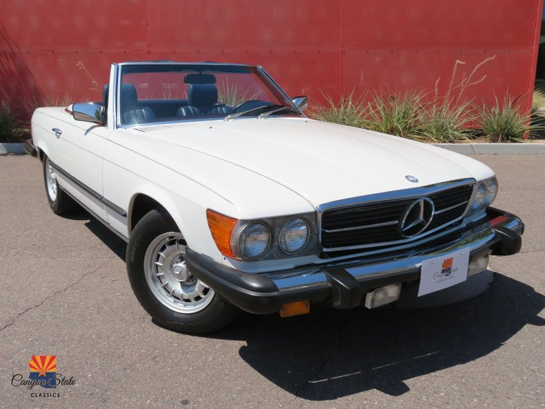1984 Mercedes-Benz 380 Series 2 DR ROADSTER