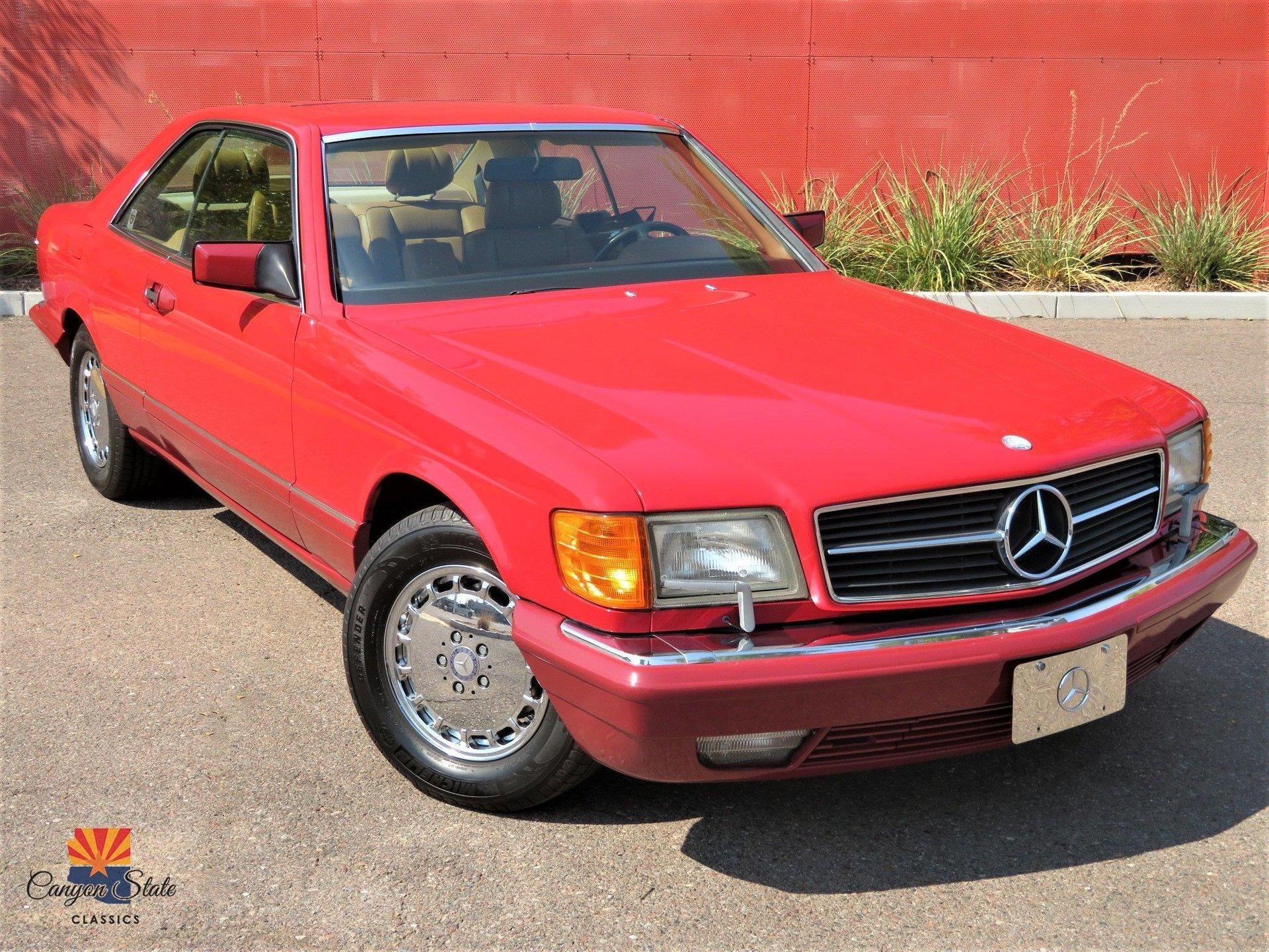 1990 Mercedes-Benz 560 Series