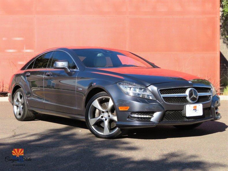2012 Mercedes-Benz CLS-Class 4dr Sdn CLS 550 4MATIC