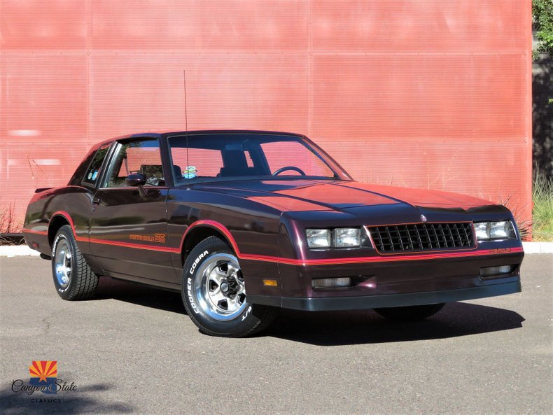 1985 Chevrolet Monte Carlo 2dr Coupe Sport Ss For Sale 216979 Motorious
