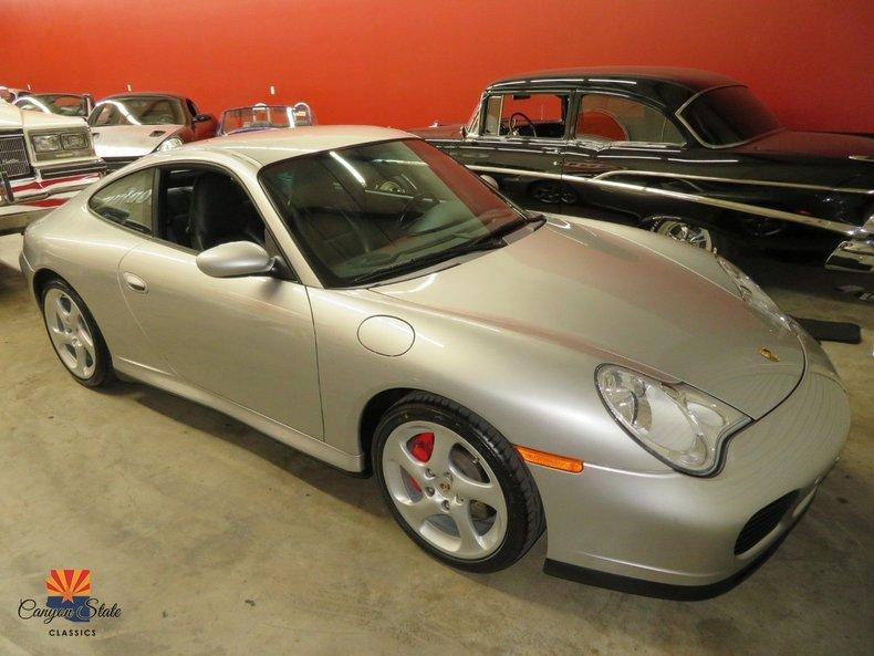 2002 Porsche 911 Carrera 2dr Cpe Carrera 4S