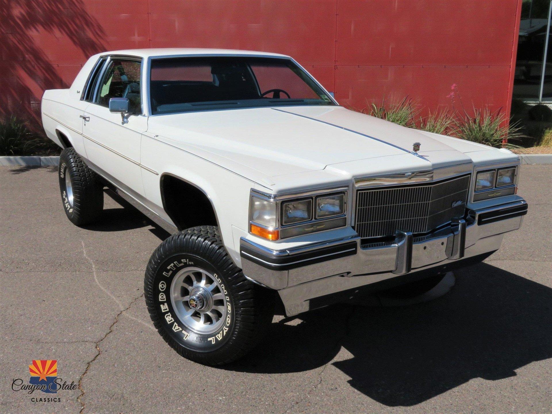 1983 Cadillac Coupe De Ville