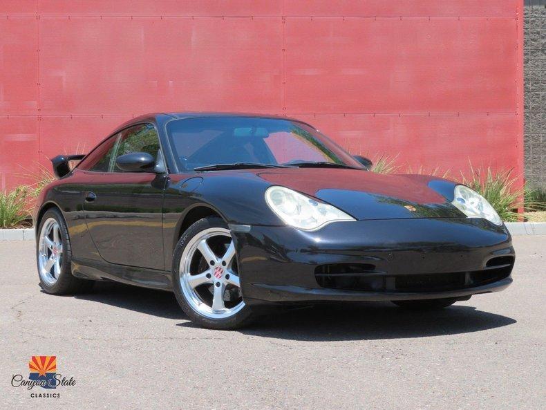 2002 Porsche 911 Carrera Targa 996