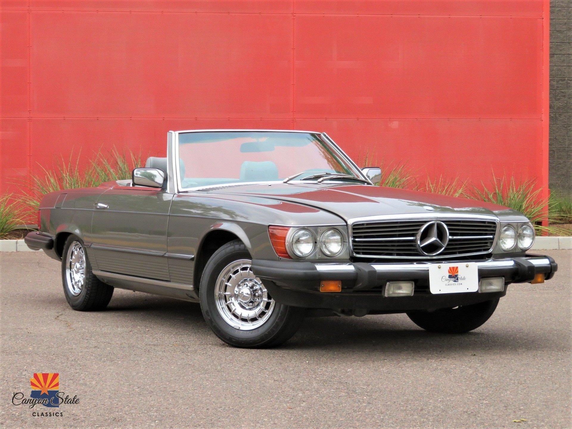 1982 Mercedes-Benz 380 Series