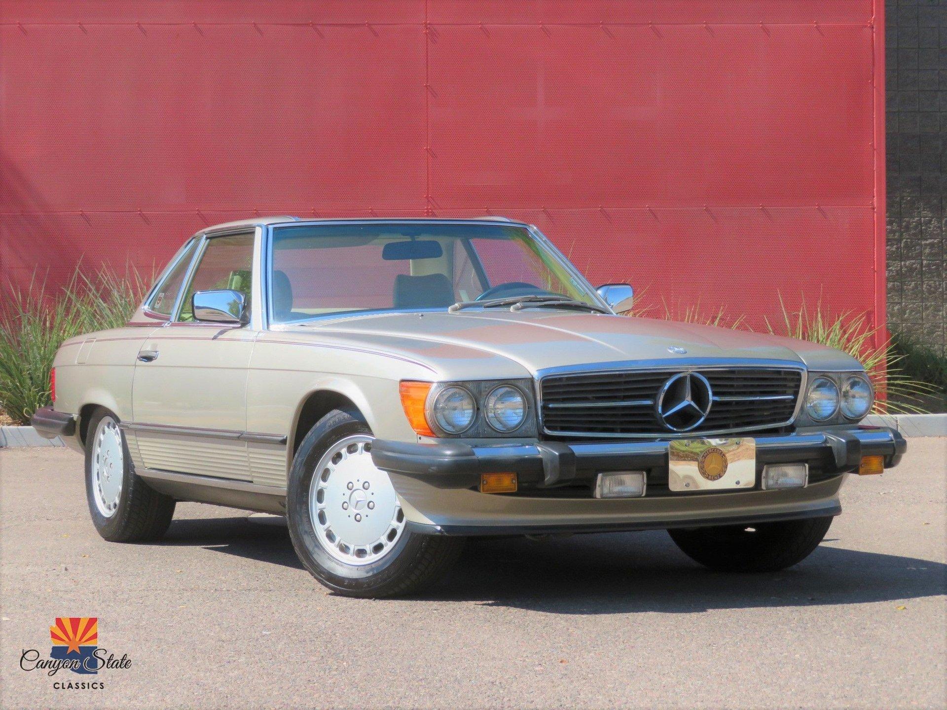 1987 Mercedes-Benz 560 Series