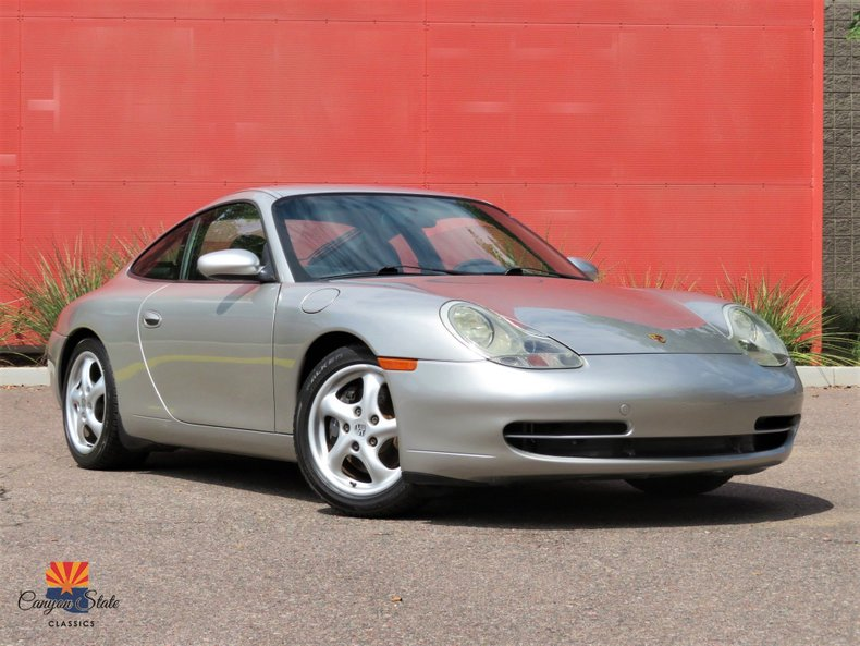 1999 Porsche 911 Carrera 2dr Carrera Cpe 6-Spd Manual