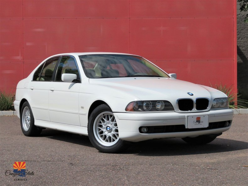 2001 BMW 5 Series 525i 4dr Sdn 5-Spd Manual