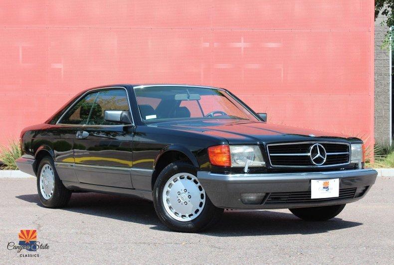 1991 Mercedes-Benz 560 Series 2dr Coupe 560SEC