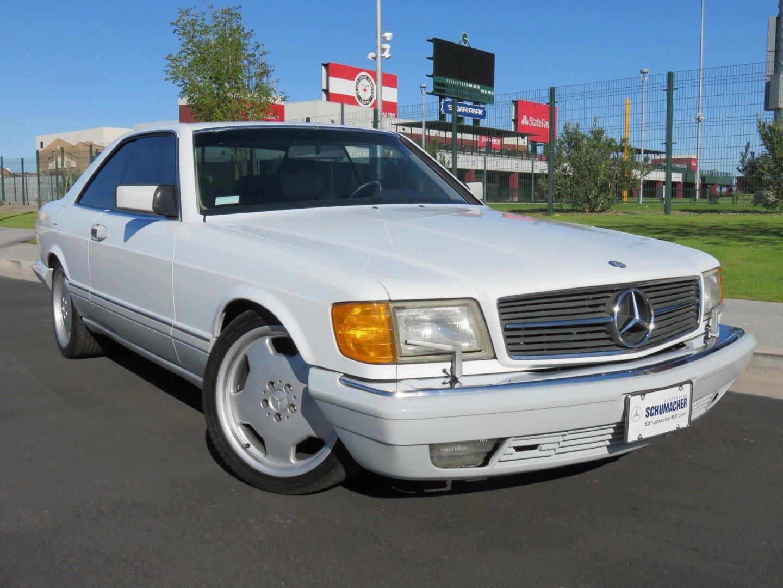 1991 Mercedes 560SEC