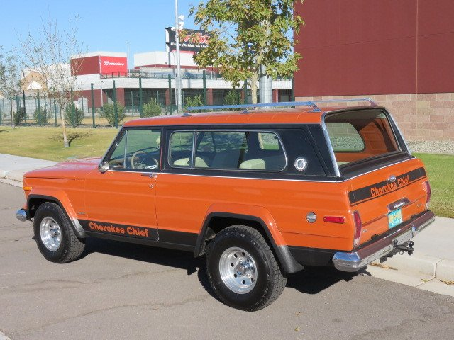 1976 Jeep Cherokee Chief Widetrack | Canyon State Classics