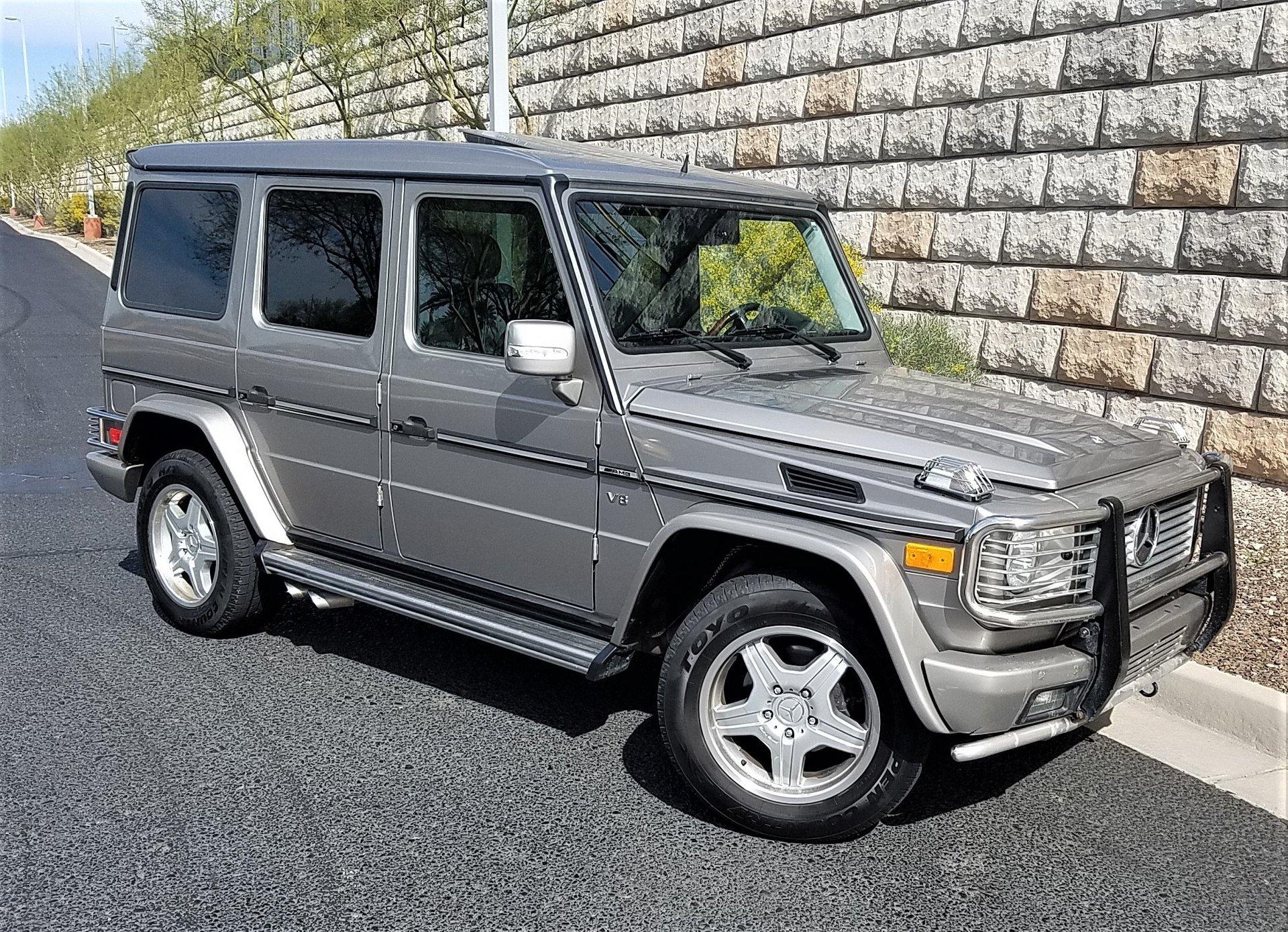 2003 Mercedes-Benz G55