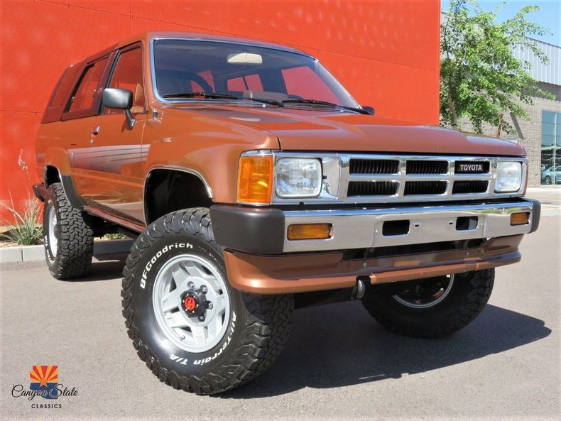 1986 Toyota 4runner 4WD For Sale