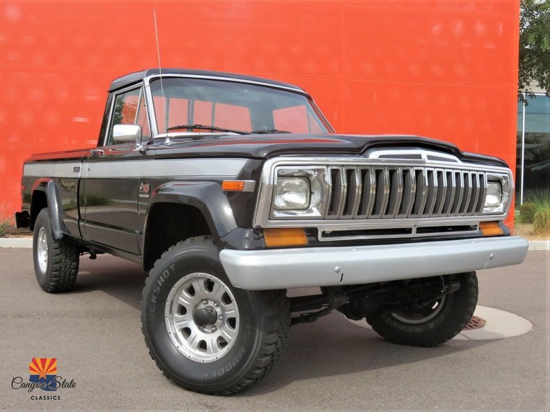 1984 Jeep Pickup 4WD For Sale