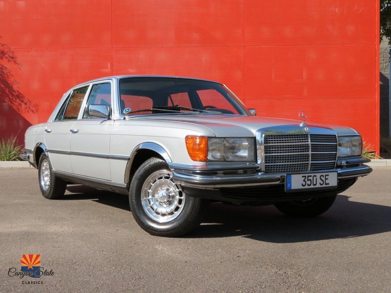 1979 Mercedes-Benz 350SE Euro Spec For Sale